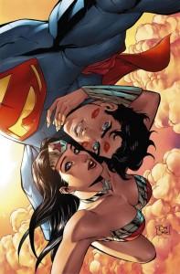 Wonder Woman Superman Selfie Variant Cover, DC, 2014, Tony Daniel