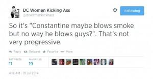 Constantine tweet