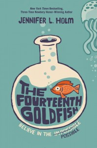 Fourteenth Goldfish, Jennifer L. Holm, random house
