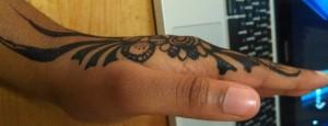 Henna. Photograph by Ardo Omer. 2014.