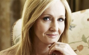 J.K. Rowling. Photograph by ANDREW MONTGOMERY.