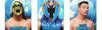 Banner: Chikara faces July 2014, chikarapro.com