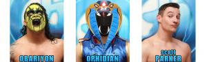 Banner: Chikara faces July 2014, chikarapro.com