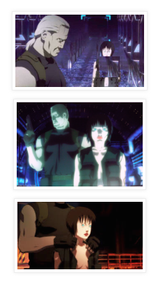 Screen Shots from Ghost in the Shell 2: Innocence, 2004, Production IG, Mamoru Oshii