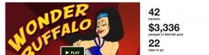 Banner: Wonder Buffalo kickstarter