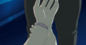 The Major and her watch, Motoko Kusanagi, Ghost in the Shell: Stand Alone Complex, episode 25, Production IG, 2002