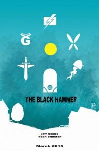 The Black Hammer Dean Orston Dark Horse Comics