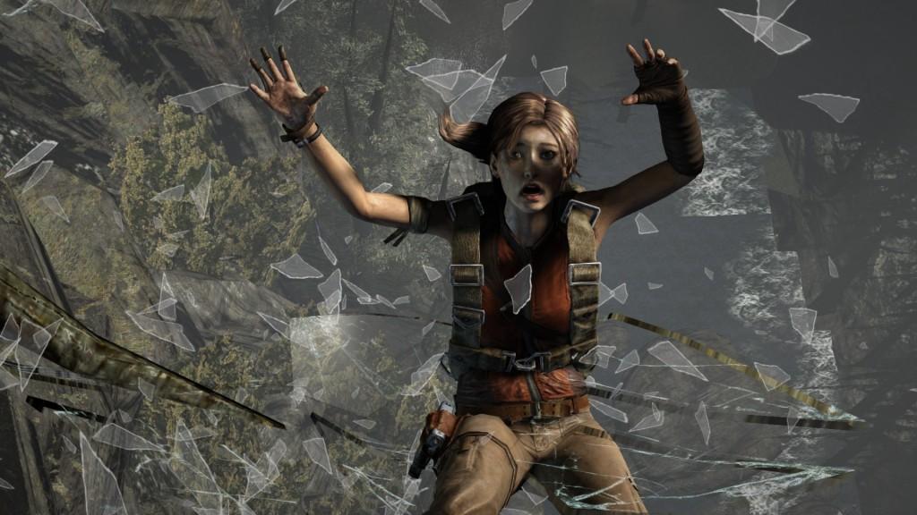 Tomb Raider 6 falling