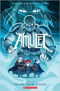 Amulet #6: escape from lucien, Kazu Kibuishi, GRAPHIX