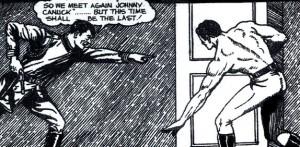 Banner: Hitler vs Johnny Canuck