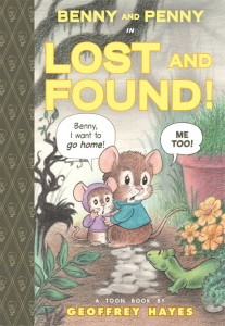 benny and penny in lost and found, toon-books, Geoffrey Hayes, http://www.toon-books.com/benny-and-penny-in-lost-and-found.html