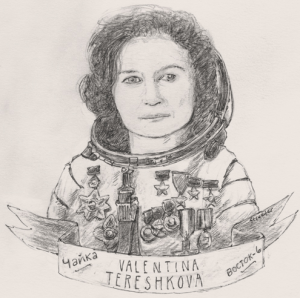 betsy streeter, valentina tereshkova, great women, http://betsystreeter.com/