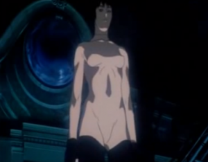 still from Ghost in the Shell, Mamoru Oshii, 1995, Production I.G