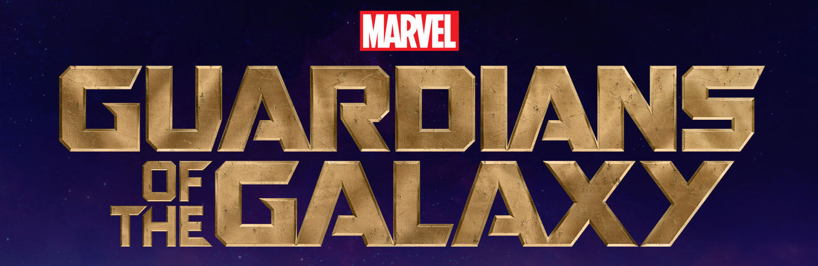 Banner. Guardians of the Galaxy. Logo. Marvel. Marvel Studios. 2014.