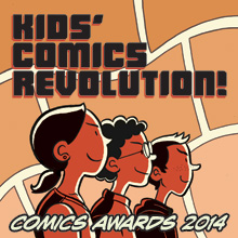 kids read comics, awards, http://mlatcomics.com/krc/cccc
