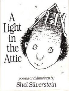 light in the attic, shel silverstein, harpercollins, http://en.wikipedia.org/wiki/A_Light_in_the_Attic