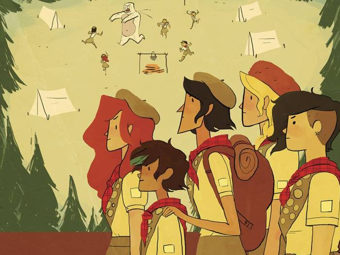 "The Lumberjanes Remain Heroines in ""Parent's Day"""