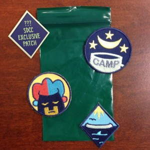 Lumberjanes Badges by BOOM! Studios. Designed by Kate Leth.