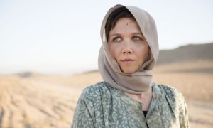 Photographed by Des Willie. The Guardian.  Saturday, 28 June, 2014. BBC. BBC Two. Maggie Gyllenhaal. The Honourable Woman.