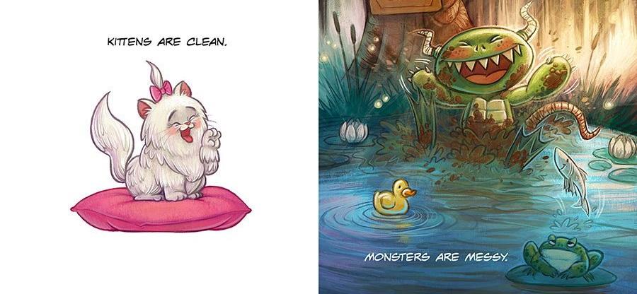 dani jones, www.danijones.com, monsters vs. kittens