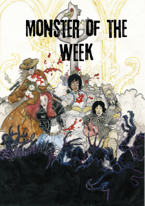 Monster of the Week Michael Sands Daniel Gorringe 2012