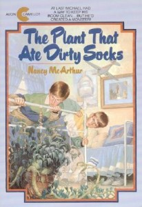 plant that ate dirty socks, nancy mcarthur, avon books, https://www.goodreads.com/book/show/760148.The_Plant_That_Ate_Dirty_Socks