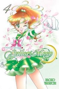 pretty guardian sailor moon volume 4 cover