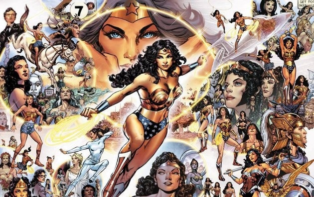Wonder Woman in Sensation Comics