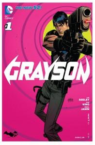 Cover: Grayson #1, DC 2014