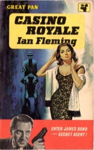 Cover: Casino Royale, Ian Flemming. Sexay edition