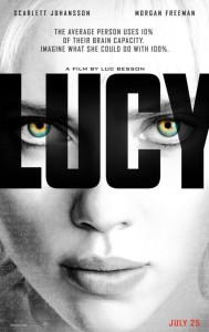Poster: Lucy, Luc Besson