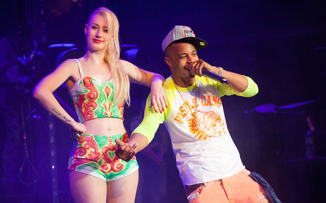 Iggy Azalea and TI