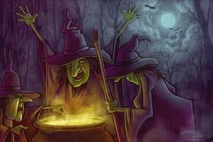 Dani Jones, www.danijones.com, witches