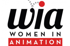 Women In Animation. Logo.