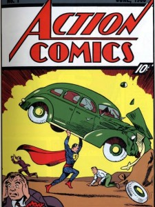 Action Comics No. 1. June 1938. Joe Shuster. Jerry Siegel.