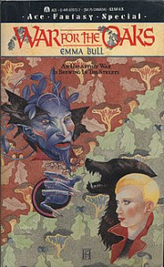 War for the Oaks, Emma Bull, cover by Pamela Patrick, Ace Books, 1987