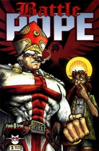 Battle Pope, Image Comics, Funk-o-Tron, RObert Kirkman, Tony moore