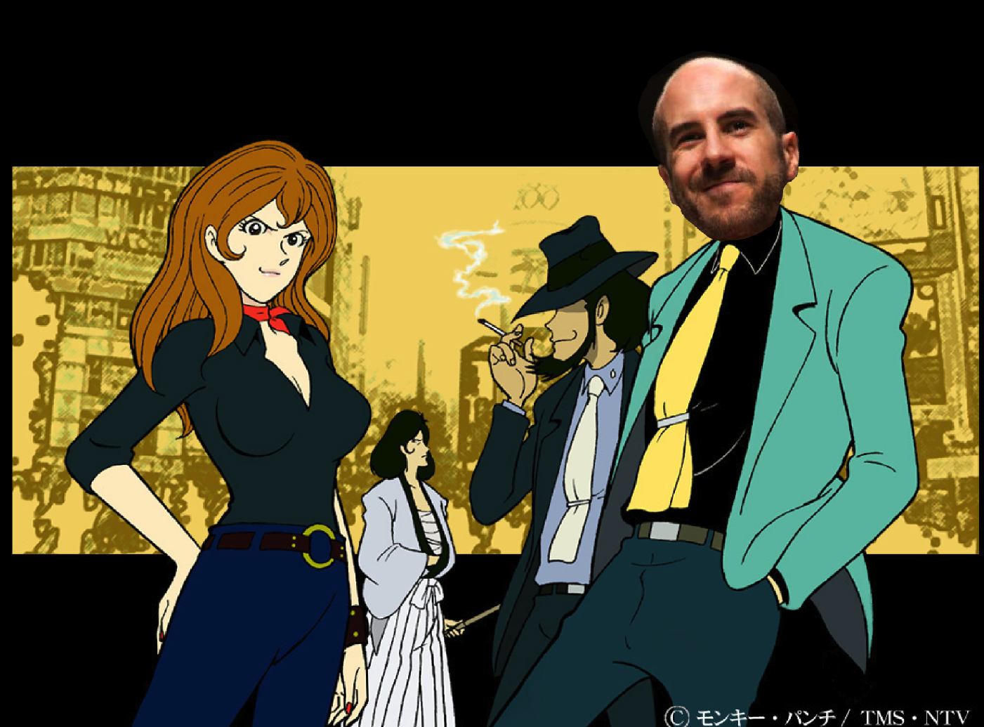 Claire's WWE Art: Cesaro III, Cesaro, WWE, 2014, Lupin 3rd, Monkey Punch