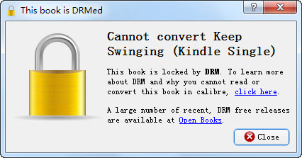 Ebook DRM error