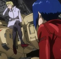 Ghost in the Shell ARISE - 02 - Ghost Whispers, The Major, Motoko Kusanagi, Ghost in the Shell: Arise, Production IG, 2013