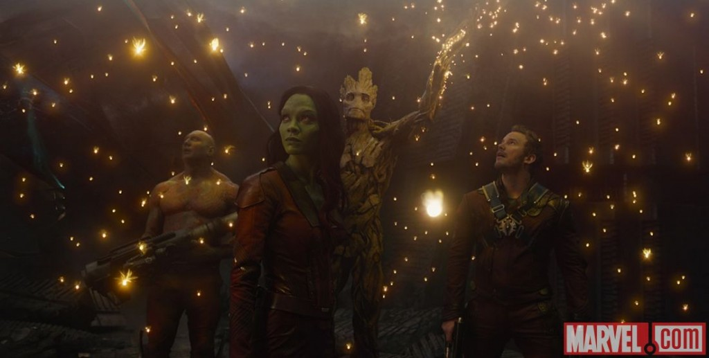 Groot. Gamora. Rocket Raccoon. Star-Lord. Drax. Guardians of The Galaxy. Directed by James Gunn. Marvel Studios. Marvel. Marvel.com. Film. August 1, 2014.