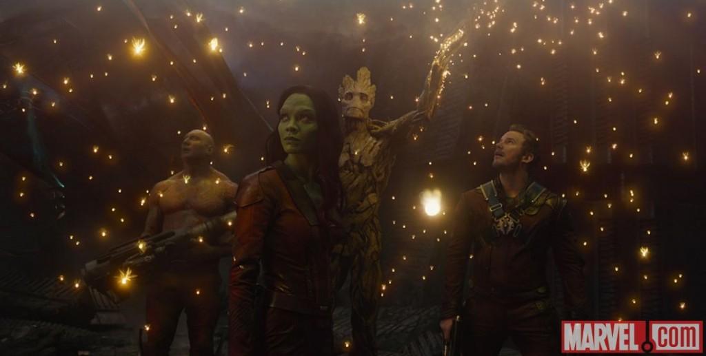 Groot. Gamora. Rocket Raccoon. Star-Lord. Drax. Guardians of The Galaxy. Directed by James Gunn. Marvel Studios. Marvel. Marvel.com. Film. August 1, 2014.