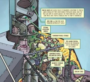 Judge Dredd Mega-City Two: City of Courts; Author: Douglas Wolk; Artist: Ulises Farinas; Publisher: IDW, 2014