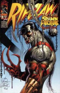 Ripclaw #5, David Wohl (writer), Anthony Winn (cover, pencils), Joe Weems (cover, inks). Image Comics, 1996