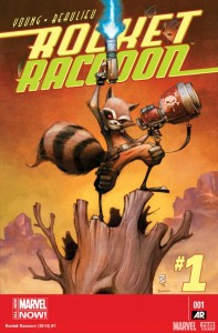 Rocket Raccoon #1 cover