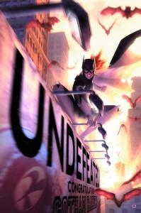 Cover: Batgirl #34, Jonathan Glapion, DC Comics 2014