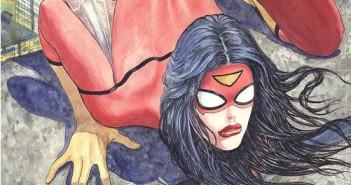 2014. Spider-Woman #1 Variant Cover. Milo Manara. Marvel. Banner