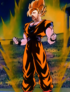 Claire's WWE Art: SuperSheamus, Sheamus, WWE, 2014, Dragon Ball Z, Toriyama Akira