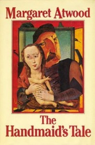 Margaret Atwood Cover artistTad Aronowcz, design; Gail Geltner, collage (first edition, hardback), McLelland & Stewart, 1985
