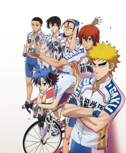 "Yowamushi Pedal, which roughly translates as ""Wimp Pedal."""